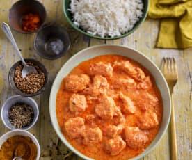 Chicken Garam Masala with Basmati Rice