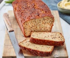 Low Carb Zucchini-Brot