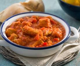 Magras con tomate