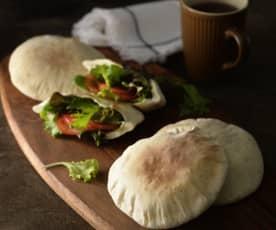 披塔(口袋)麵包