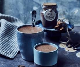 Getränkepulver für heiße Schokolade