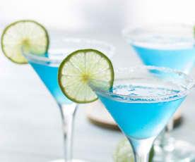 Cóctel Blue Margarita