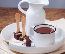 Cioccolata su stecco