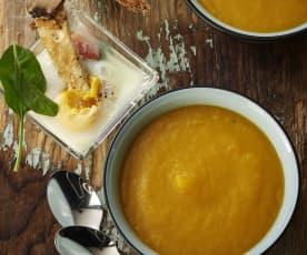 Σούπα λαχανικών, Αυγά σε πυρίμαχα φορμάκια με σπανάκι