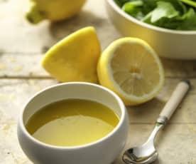 Citronette et vinaigrette