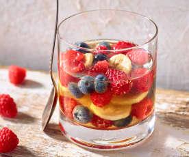 Whiskeygelee mit Früchten