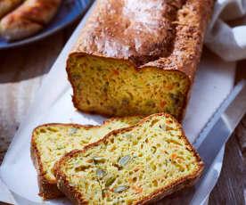 Zucchini-Karotten-Brot