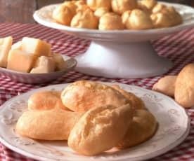Eclairs e bignè al formaggio (senza glutine)