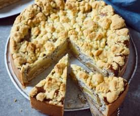 Makovo-jablečný koláč