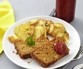 Polpettone di lenticchie (vegan)