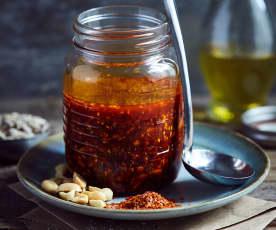 Chiliöl (辣椒油)