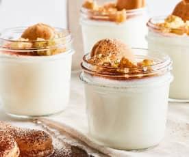 Yogurt  al tiramisù (con fermenti per yogurt)