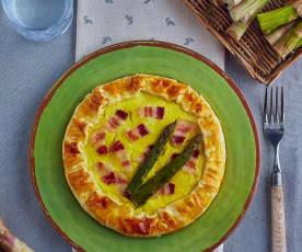 Quiche asparagi e bacon