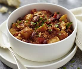 Chili di tofu (vegan)