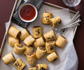 Gluten free sausage rolls