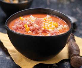 Salmorejo - hiszpański chłodnik pomidorowy