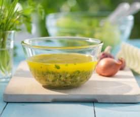 Salatsauce für Blattsalate