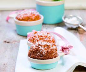 Muffinki pomarańczowo-żurawinowe