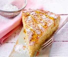 Süße Focaccia mit Haselnüssen
