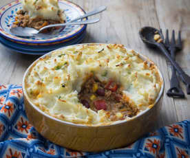 Mexican cottage pie