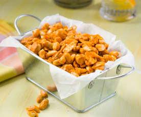 Snack de cacahuetes