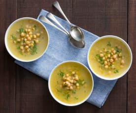 Revithia (chickpea soup)