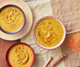 Mercimek corbasi (Crema di lenticchie rosse)