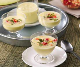 Sopa fría de melón