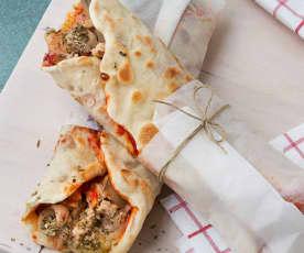 Pizza wraps