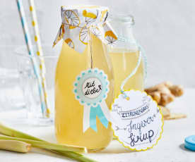 Zitronengras-Ingwer-Sirup