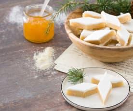 Calissons (Mazapán con fruta glaseado)