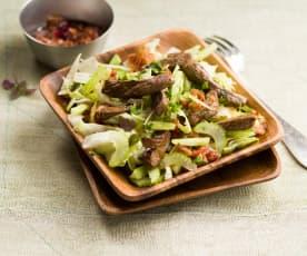 Salade de bœuf thaïe