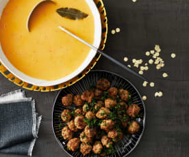 Kartoffel-Paprika-Suppe