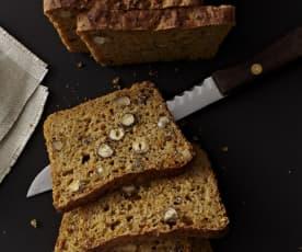 Möhren-Nuss-Brot