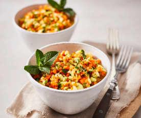 Zucchini-Minz-Salat