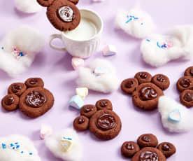 可可熊掌饼干