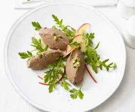Hähnchenleber-Pistazien-Pastete