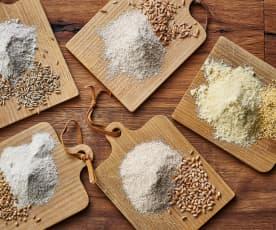 Graines de céréales moulues (150-250 g)