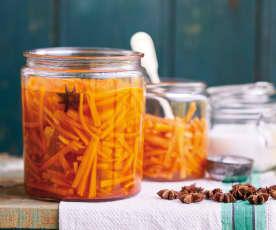Pickles de cenoura