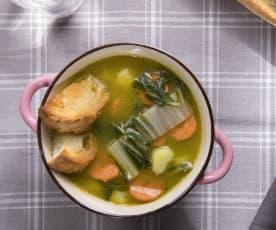 Zuppa di bietole