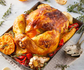 Pollo a los cítricos en Varoma