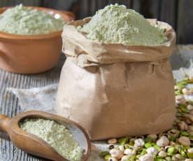 Farina di legumi (vegan)