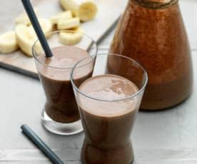 Schoko-Bananen-Smoothie