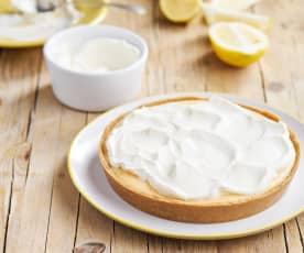 Tarte fresca de limão