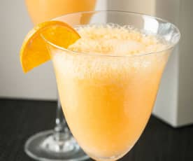 Sorbete de mandarinas