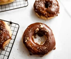 Donuts al caramello