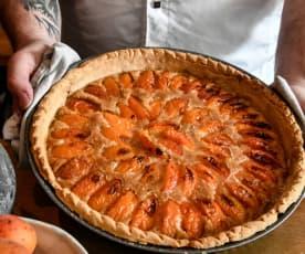 Tarte à l'abricot et aux cacahuètes