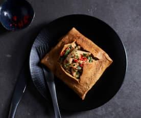Thai-Style Chicken Omelet
