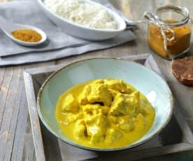 Spezzatino di vitello al curry
