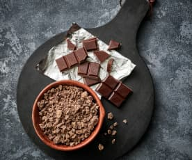 Chocolate amargo rallado grueso (70-200 g)